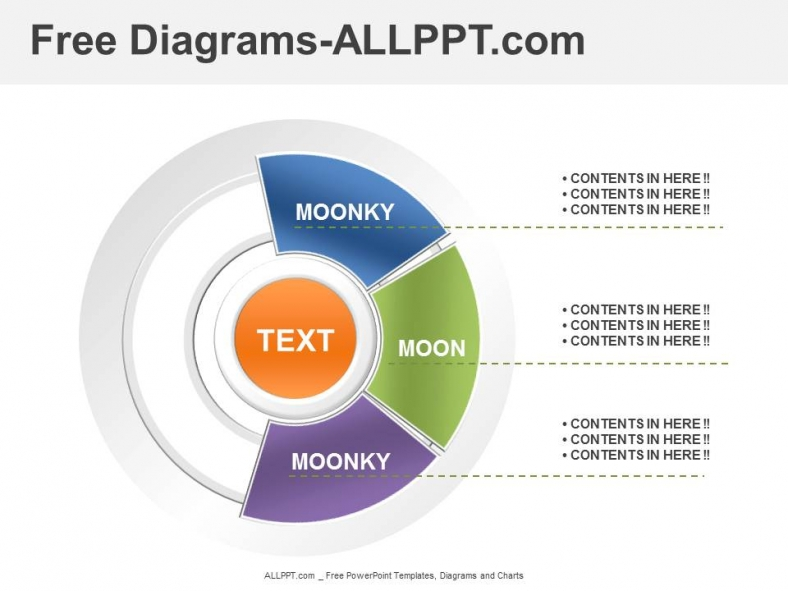 3 Analysis Diagrams Powerpoint Template Download Free: diagram drawing software free download