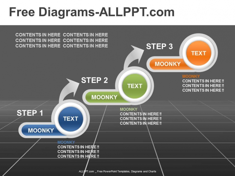 3 Step Diagram Powerpoint Template Daily Udates Download Free