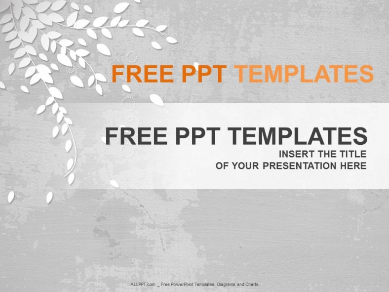 Templates For Powerpoint Free Download Nature