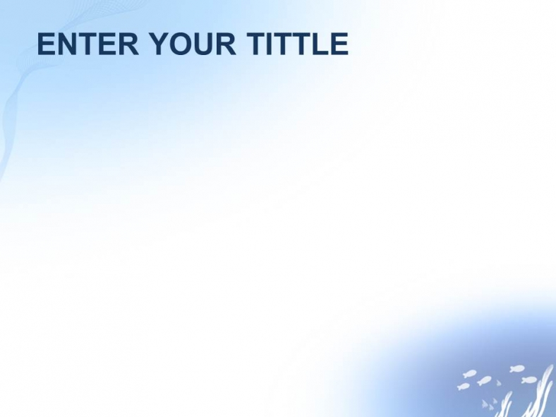 Ocean Water Powerpoint Templates Design Download Free Daily Updates