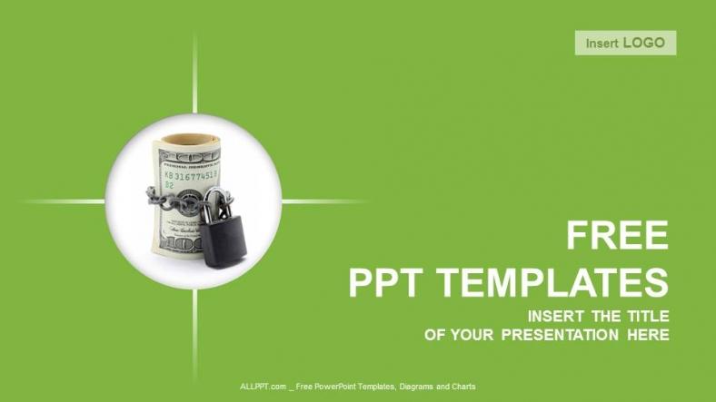 money saving insurance finance powerpoint templates