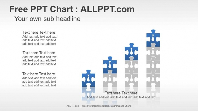 Puzzle Pieces PPT Charts + Download Free + Daily Updates +
