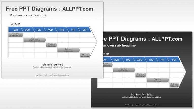 sample project timeline