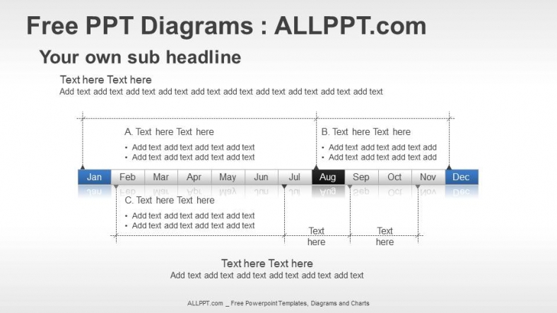 Year Timeline Ppt Diagrams   Download Free