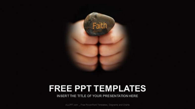 faith textreligion ppt templates