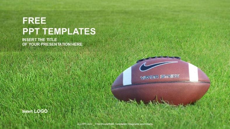 american footballsports ppt templates
