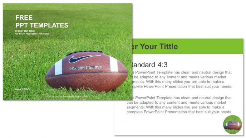 American Football Sports Ppt Templates