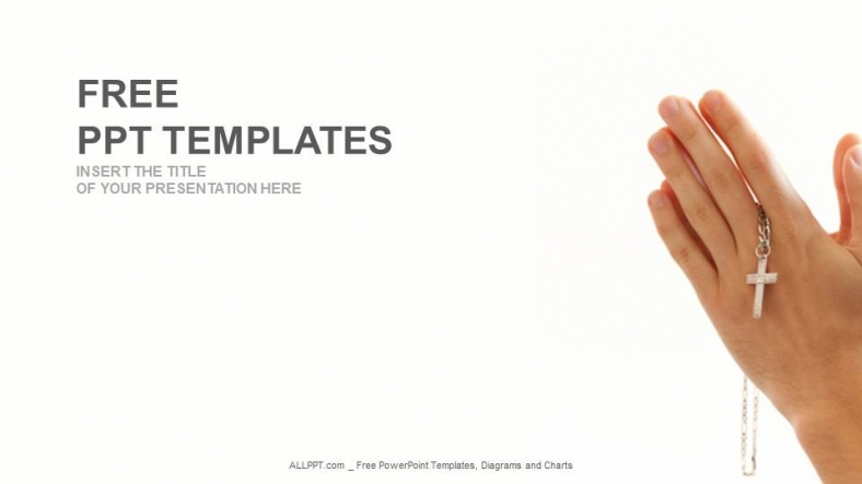 Christianity-Cro...16:9 Powerpoint Christian Templates Free