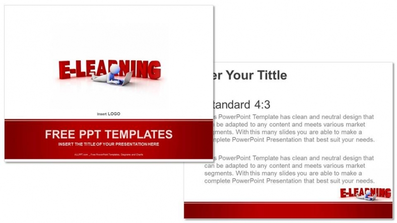 elearning concepteducation ppt templates