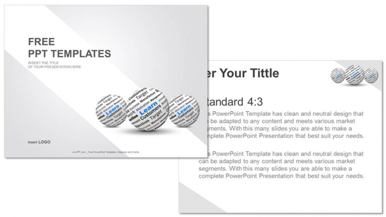 Learn sphere definition education ppt templates for Define template in powerpoint