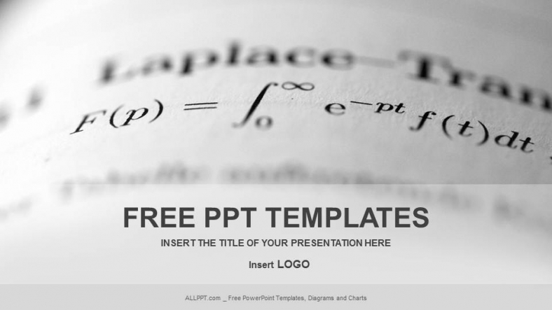Long math education powerpoint templates for Math powerpoint templates free download