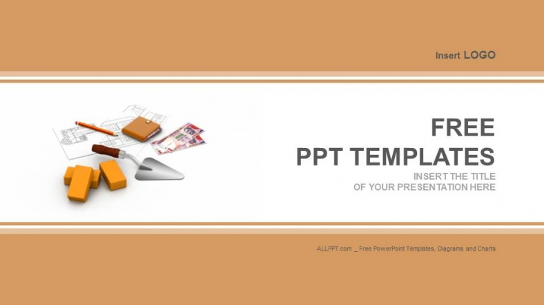 Construction Concept Industry Powerpoint Templates