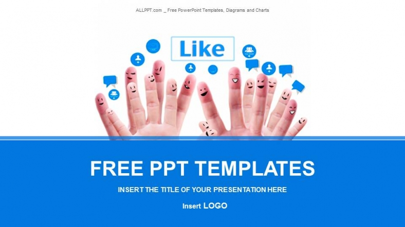 Social Network-Business PowerPoint Templates