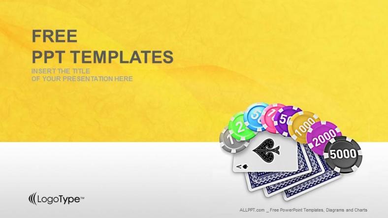 Free powerpoint templates gambling