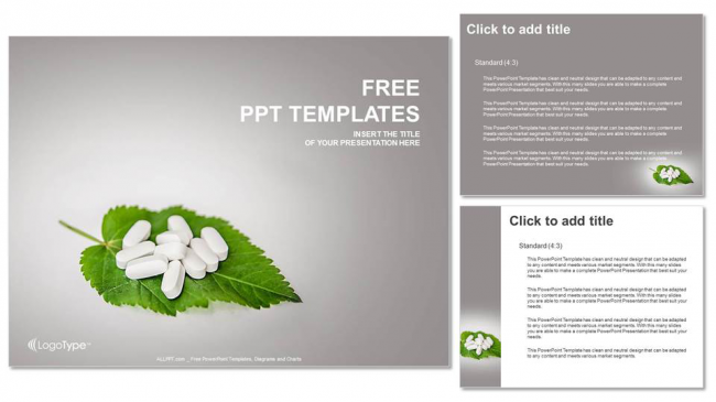 Pills-On-the-leaf-Medical-PPT-Templates (4)