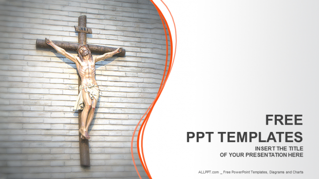 Jesus-Christ-Rel...16:9 Powerpoint Christian Templates Free