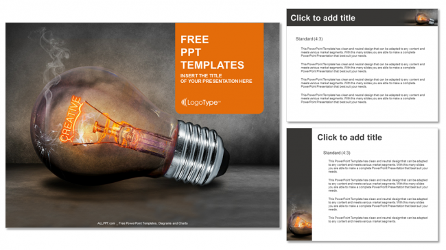 Marketing Idea Presentation Template Professional Powerpoint