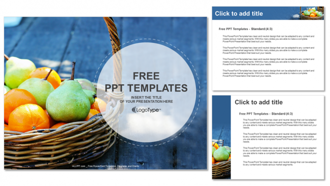 Fresh-Fruit-Basket-Food-PPT-Templates (4)
