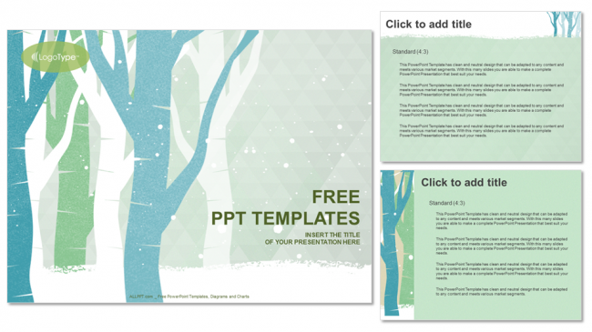 Winter-Trees-Nature-PowerPoint-Templates (4)