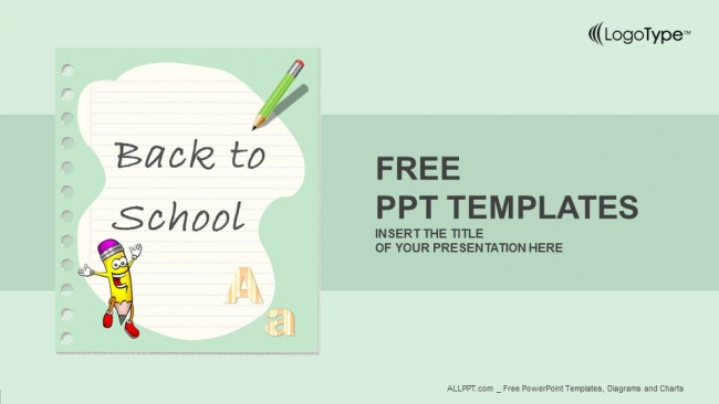 Back to school powerpoint templates for Free school ppt templates