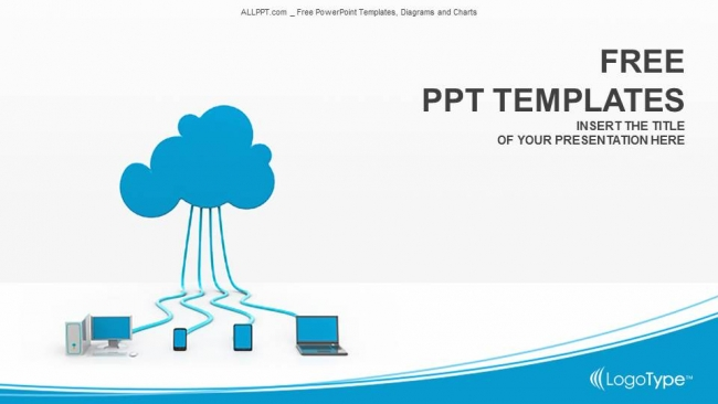 cloud computing powerpoint templates. Black Bedroom Furniture Sets. Home Design Ideas