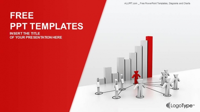 Network System And Chart-Business PPT Templates