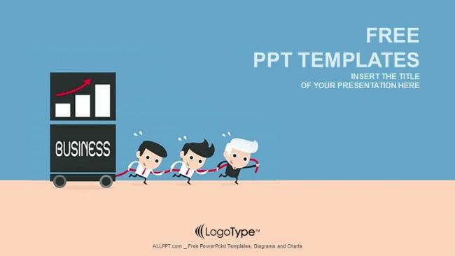 Teamwork Business People Powerpoint Templates