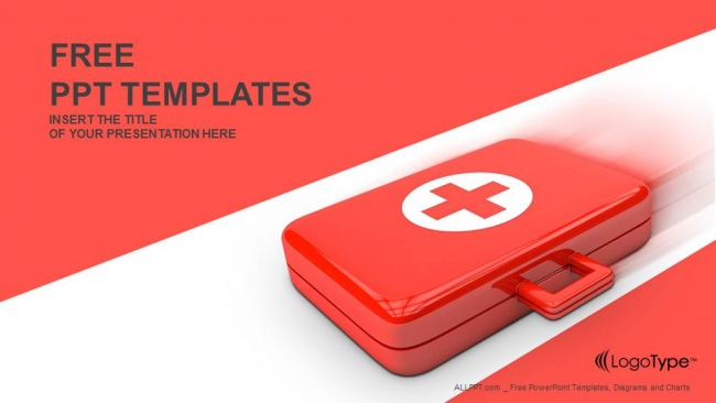 first aid kit powerpoint templates