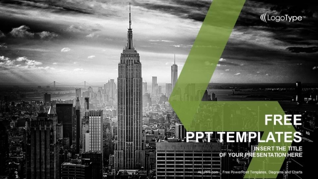 city powerpoint template