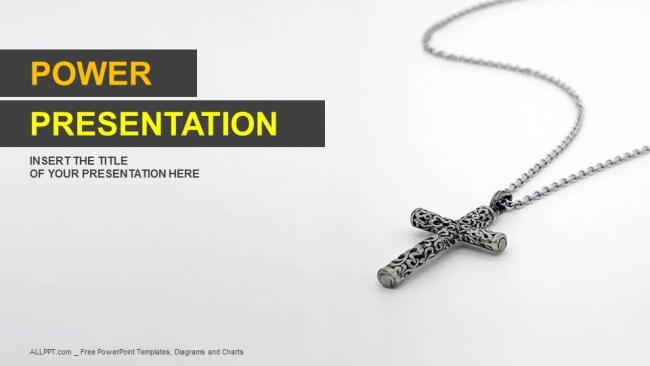 Silver-Christian...16:9 Powerpoint Christian Templates Free