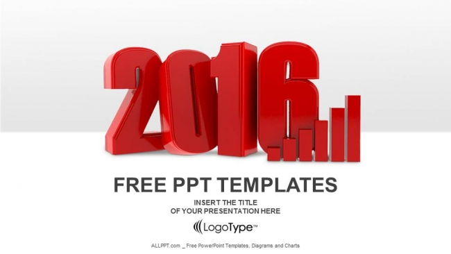 3d chart for 2016 powerpoint templates