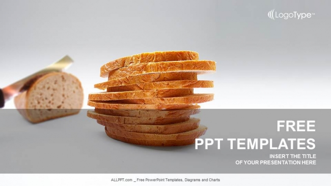 loaf of bread powerpoint templates