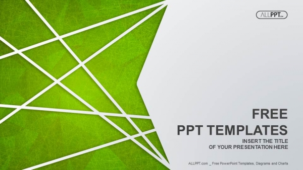 Abstract PPT Templates , Green PPT , PPT Templates , Simple PPT