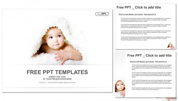 Blog single author small baby is hiding under the white blanket powerpoint templates 4 toneelgroepblik Gallery