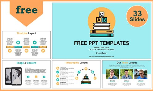 Free Best Education Powerpoint Templates With Professional
