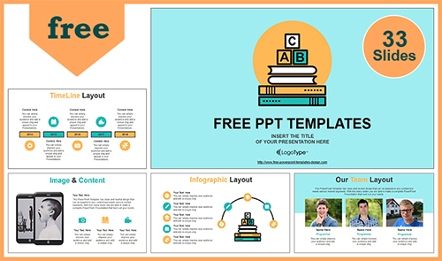 Free Best Education PowerPoint Templates with Professional +
