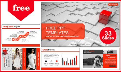 Free Best Abstract Powerpoint Templates With Professional 55slides