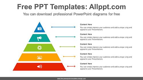 smart art pyramid powerpoint diagram template