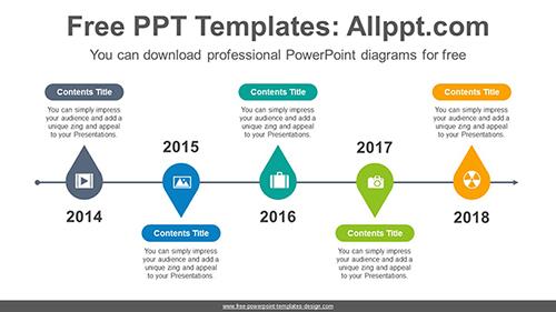 Water Drop Powerpoint Diagram Template