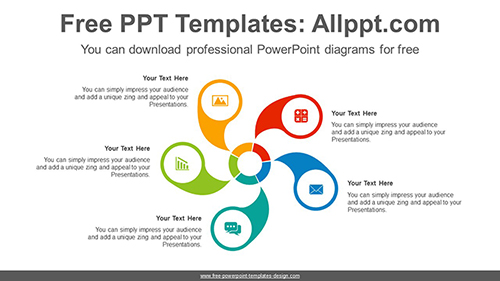 Wheel Cycle Powerpoint Diagram Template