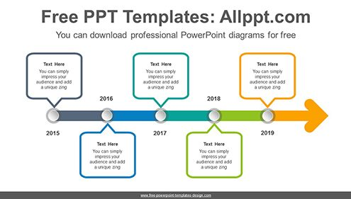 Nice Powerpoint Timeline Images >> Free Powerpoint Timeline Diagrams