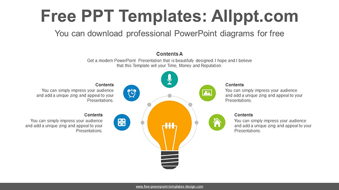Radial bulb PowerPoint Diagram Template on chart templates, manual templates, draw templates, photography templates, number templates, document templates, line templates, illustration templates, storyboard templates, tools templates, graph templates, book templates, paper templates, compare templates, history templates, table templates, list templates, information templates, legend templates, work templates,