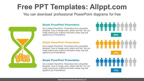 People Icons Chart Powerpoint Diagram For Free