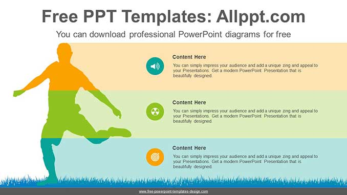 Dynamic Silhouette Banner Ppt Diagram For Free