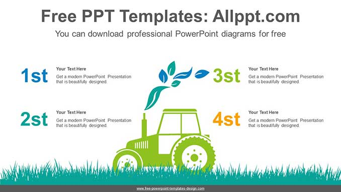 Eco Friendly Farming Powerpoint Diagram For Free