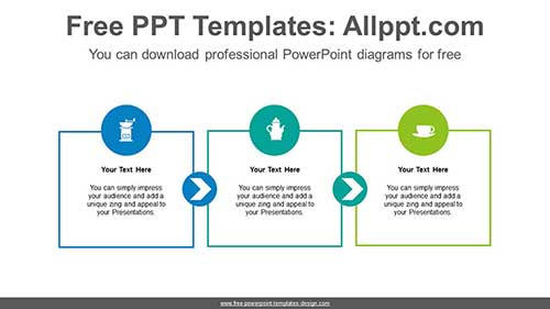 Free PowerPoint Flow and Process Diagrams on