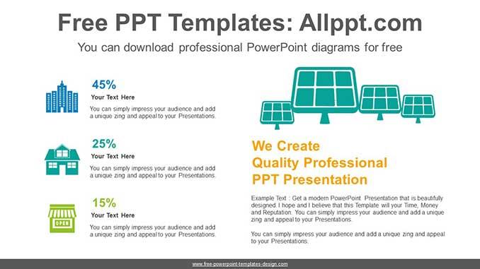 Solar Energy Powerpoint Diagram For Free