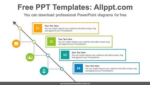 Free PowerPoint Stair and Step Diagrams