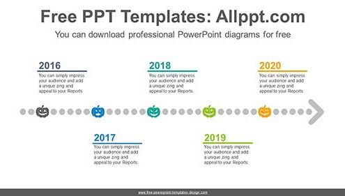 Graphic Timeline Template from www.free-powerpoint-templates-design.com