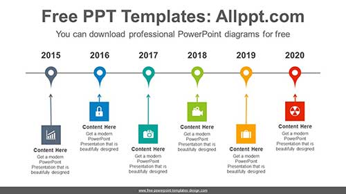 Timeline Ppt Template Free from www.free-powerpoint-templates-design.com